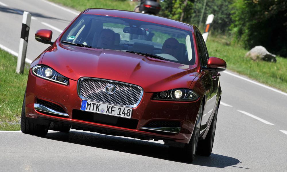 Новый Jaguar XF: «Люк, я твой отец!»
