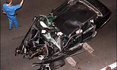 Обломки автомобиля принцессы Дианы продадут на торгах
