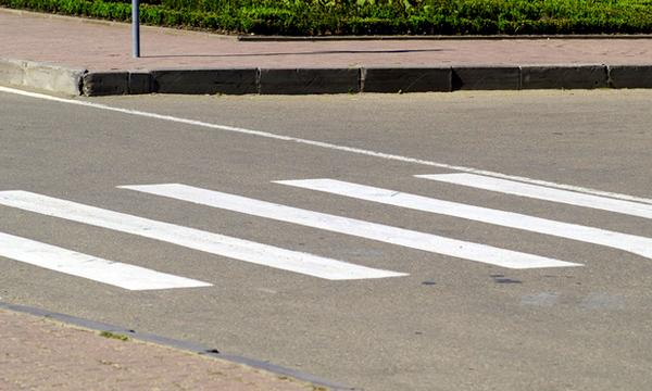 Пешеходные переходы оборудуют подсветкой