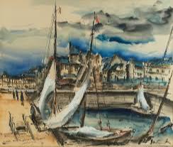 Морис де Вламинк, «Порт Онфлера», 1920-е