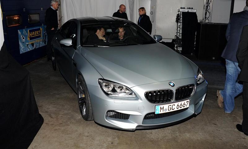 BMW M6 Gran Coupe представят в январе