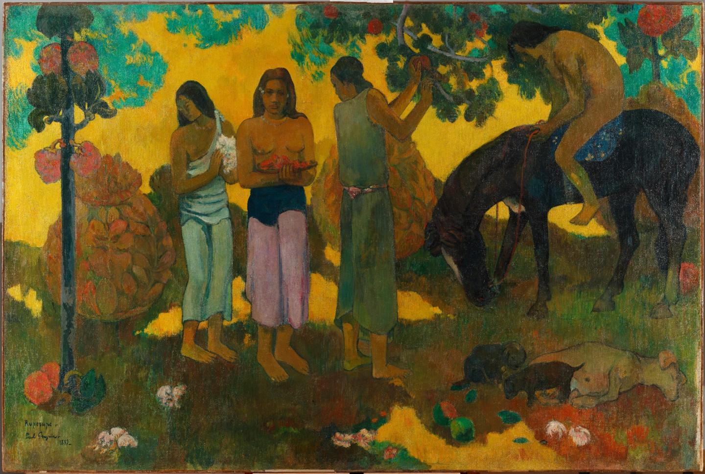 Поль Гоген. Сбор плодов, 1899