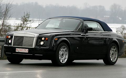 Кабриолет Rolls-Royce представят в январе