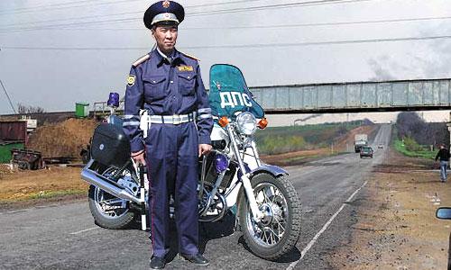 Подмосковные автоинспекторы пересядут на мотоциклы