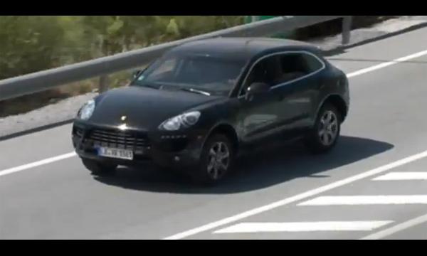 Porsche Macan в действии. Видео