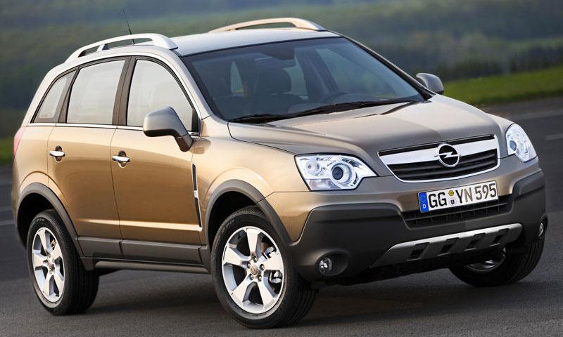 Opel снизил российские цены на внедорожник Antara