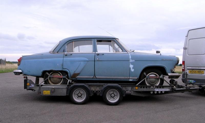 В Англии нашли уникальный праворульный ГАЗ-21