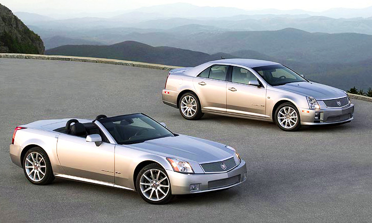 Cadillac STS-V и XLR-V