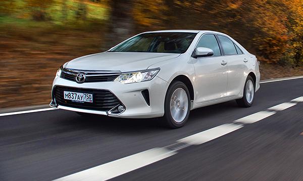 Toyota Camry стала самым популярным автомобилем с пробегом на Кавказе
