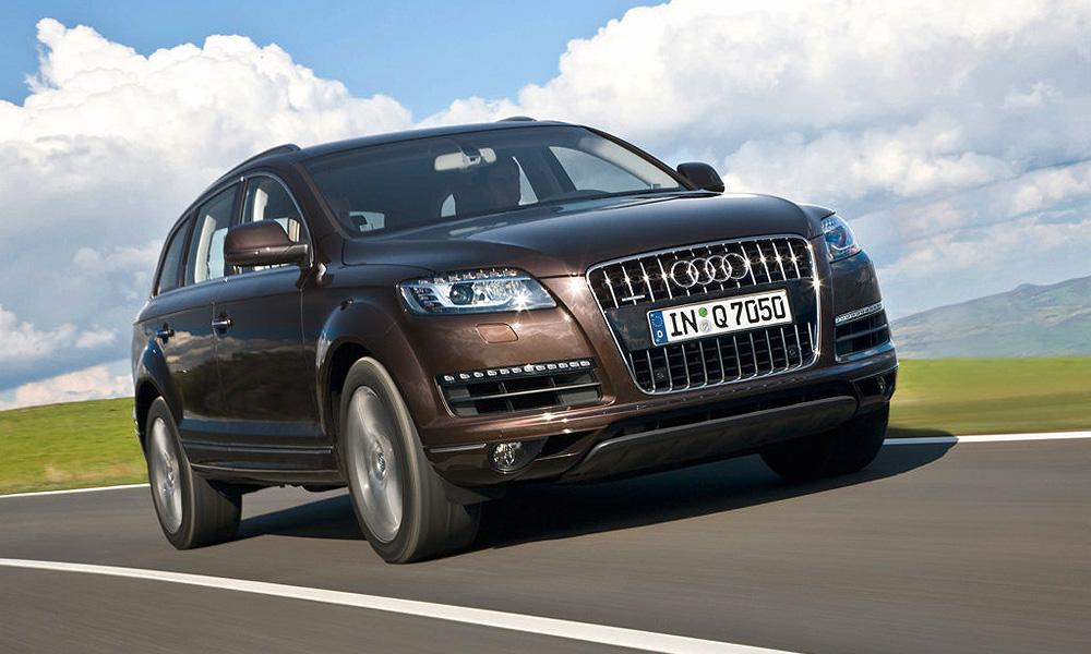 В России стартуют продажи обновленного Audi Q7