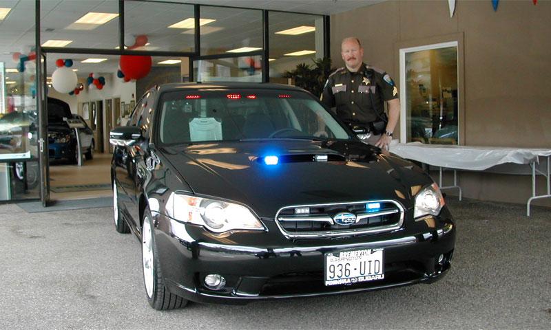 Американские полицейские пересаживаются на Subaru Legacy