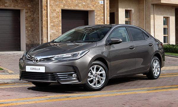 Toyota объявила цены на обновленную Corolla