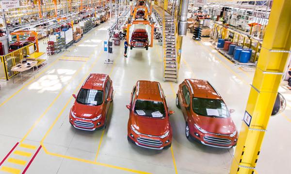 Кроссовер Ford EcoSport получил двигатель российского производства