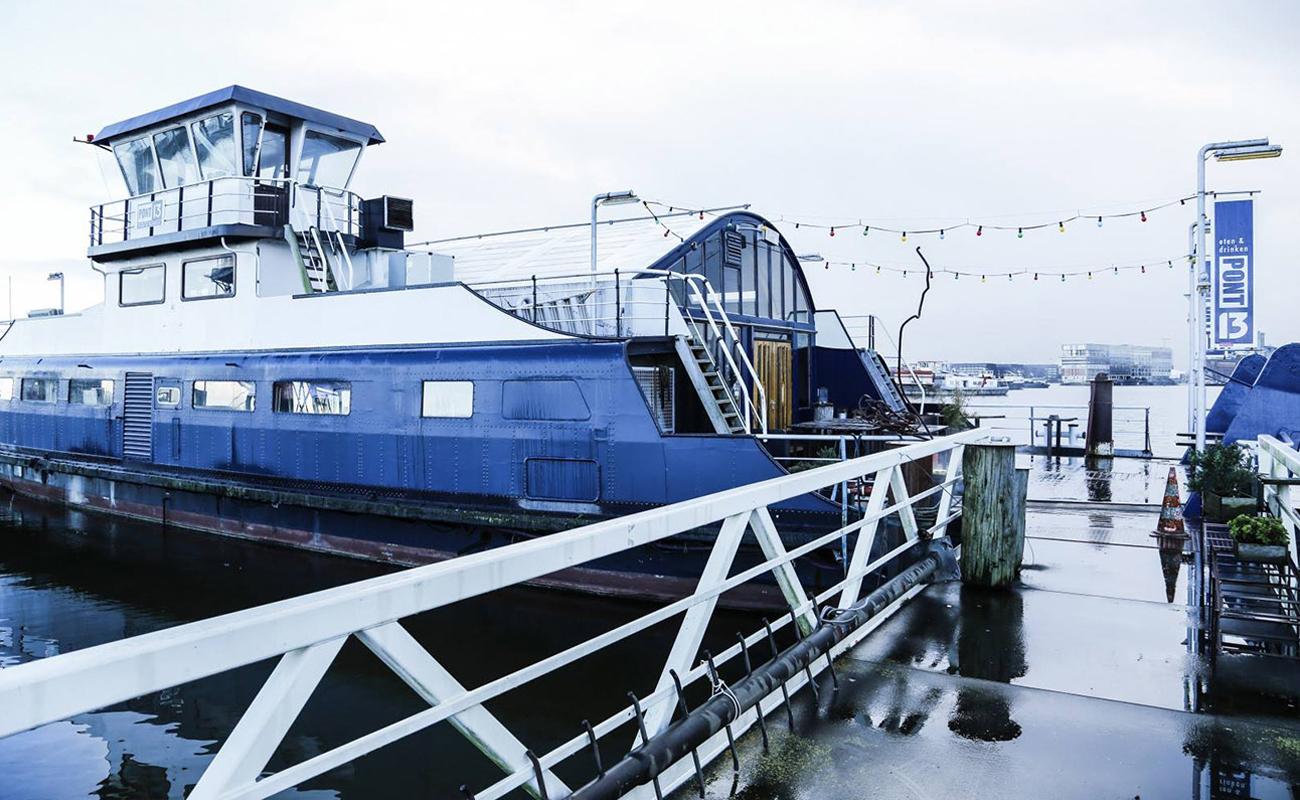 Плавучий дом-музейWoonbootmuseum