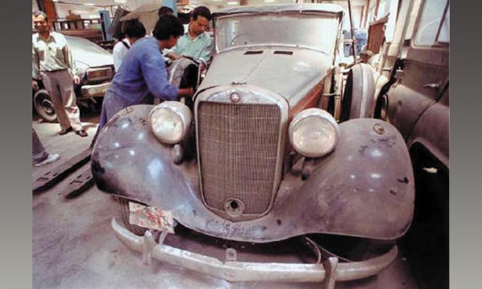 Mercedes-Benz последнего короля Непала выставят в музее