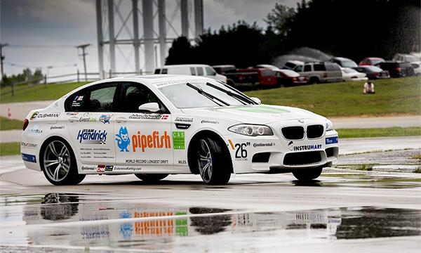 BMW М5 установила рекорд по дрифту