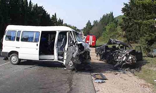 В Тверской области пьяный водитель протаранил автобус