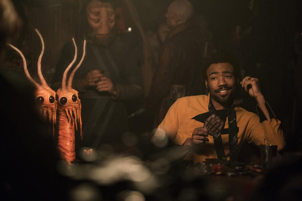 Дональд Гловер в фильме «Хан Соло: Звёздные войны. Истории»