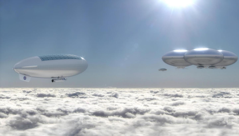 Проект дирижаблей NASA High Altitude Venus Operational Concept