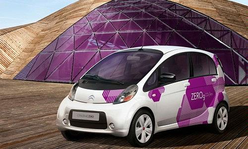 Продажи электрического Citroen C-ZERO стартуют через год