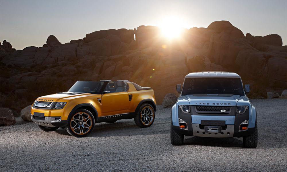 Новый Land Rover Defender. Первый тест-драйв концептов