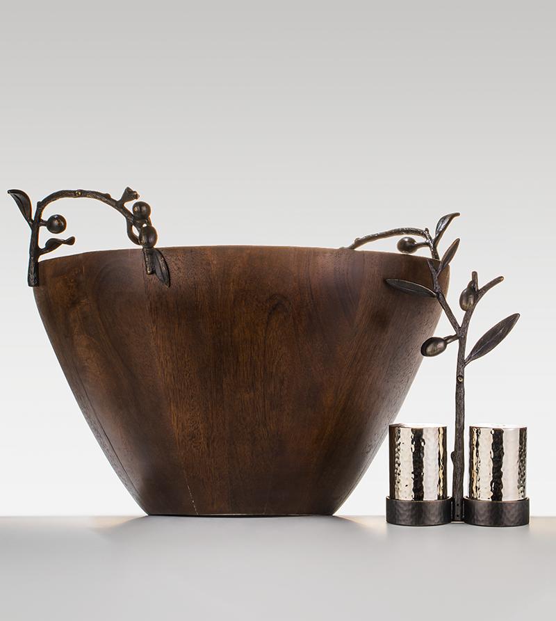 Чаша и набор для специй «Оливковая ветвь», «Дом фарфора»