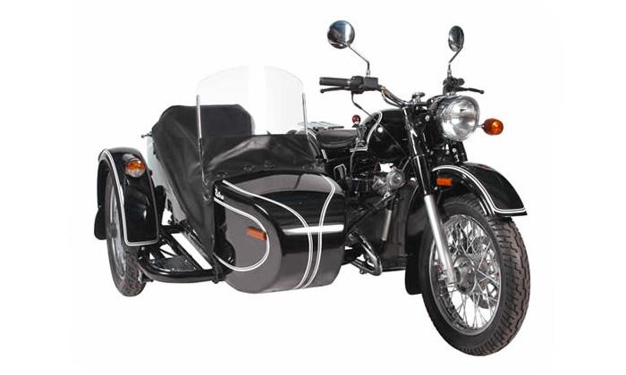 Мотоцикл Урал стал почетным экспонатом британского автомузея