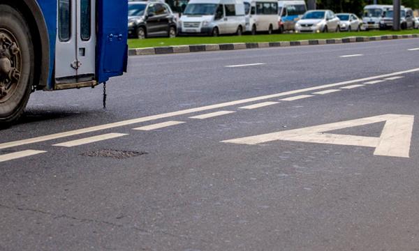 На Киевском шоссе появится выделенная полоса для автобусов