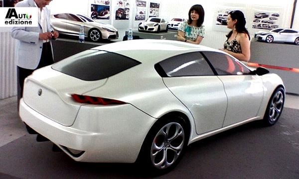 Преемника Alfa Romeo 166 построят на платформе Maserati Ghibli
