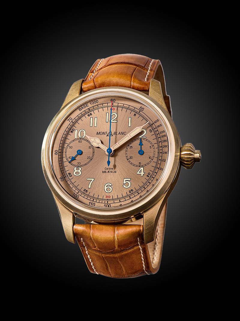 Часы Montblanc 1858 Chronograph Tachymeter, лимитированная серия 100 экземпляров, Montblanc
