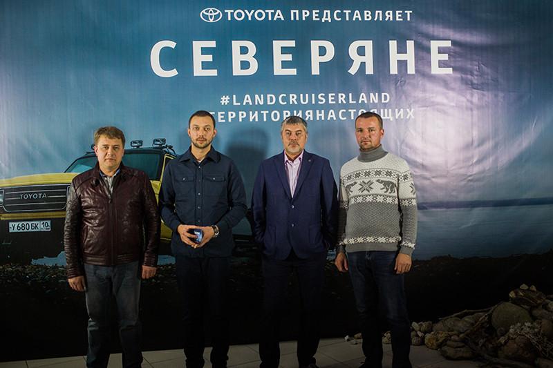 Василий Зимин, Илья Поволоцкий, Игорь Черняк, Владимир Дашугин