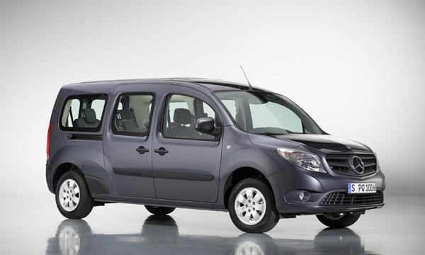 Mercedes-Benz рассекретил минивэн на базе Renault Kangoo