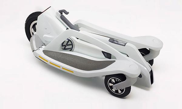 Volkswagen разработает трехколесный электроскутер