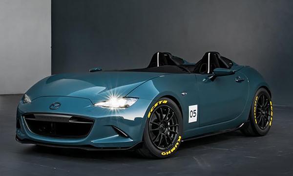 Родстер Mazda MX-5 получил версии Spyder и Speedster