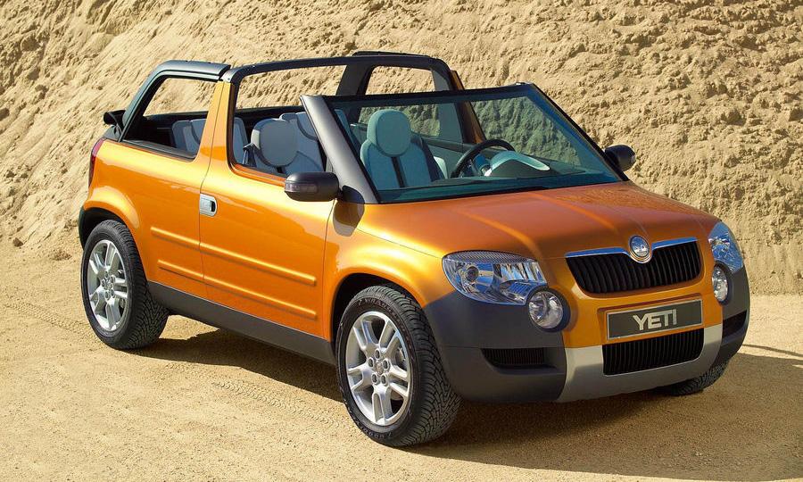 Продажи внедорожника Skoda Yeti стартуют в конце лета 2009 года
