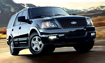 Ford Expedition - опытный образец для новой системы
