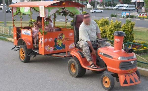 Авто-аттракционы оборудуют мигалками и видеорегистраторами