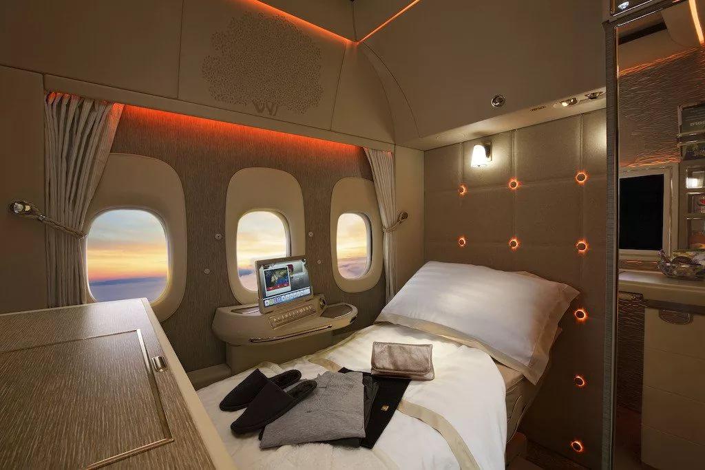 Первый класс авиакомпании Emirates