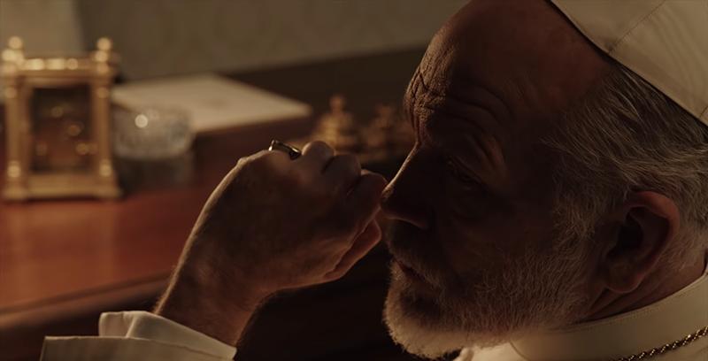 Кадр из сериала «Новый папа»