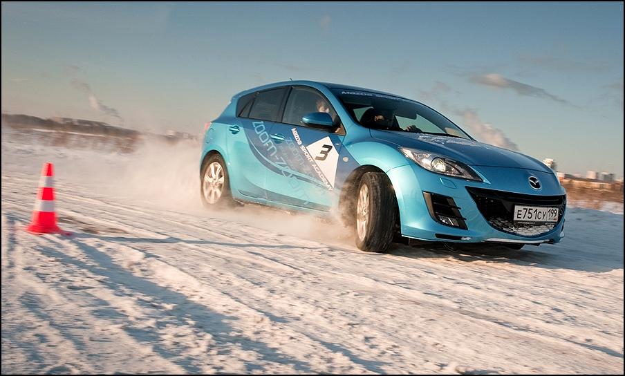 Для заносчивых: зимние уроки вождения