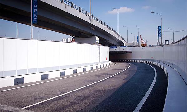 В Москве открыто движение по тоннелю на пересечении МКАД и Дмитровского шоссе