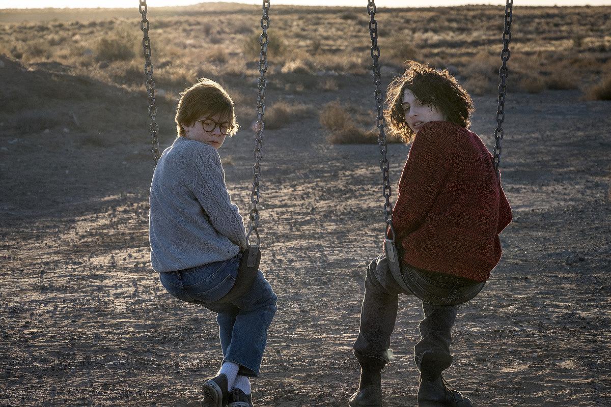 Кадр из фильма «Щегол»