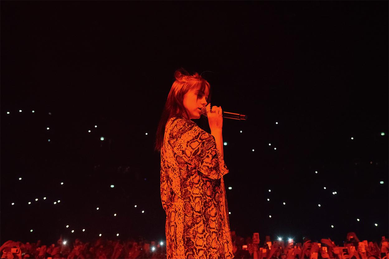 Концерт Билли Айлиш в «Мегаспорте»,27 августа