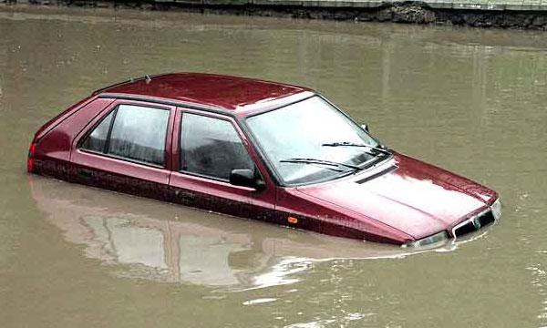 Автотрасса Одесса – Рени затоплена 50-сантиметровым паводком