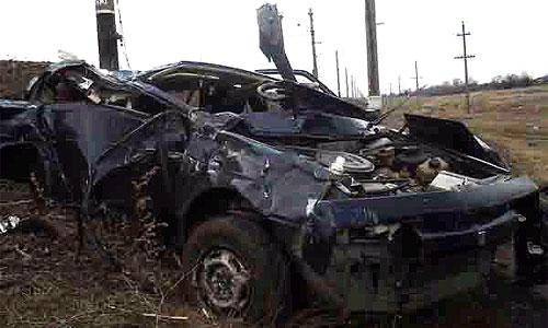 Два крупных ДТП на Украине унесли 7 жизней