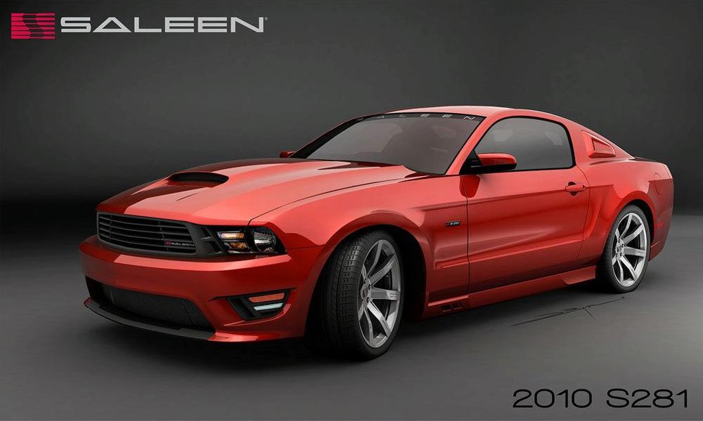 2010 Saleen Mustang S281