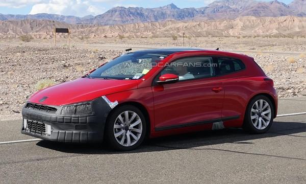 Самый мощный Volkswagen Scirocco покажут в марте