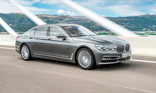 BMW назвала российские цены на новые версии 7-Series
