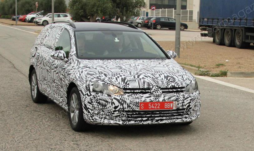 Volkswagen Golf станет универсалом через год