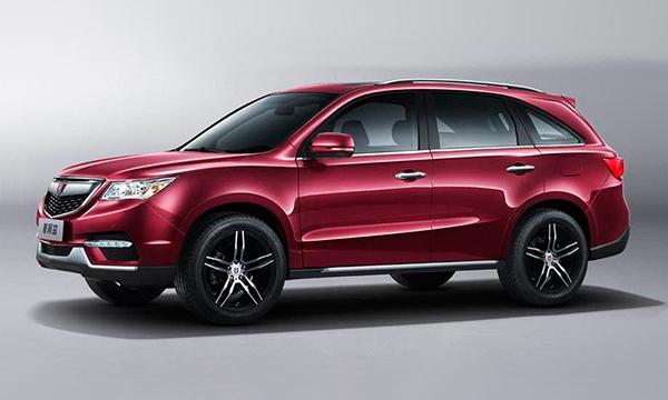 Китайцы разработали копию Acura MDX